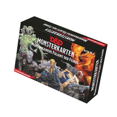 D&D: Monsterkarten – Mordenkainens Foliant der Feinde – DE