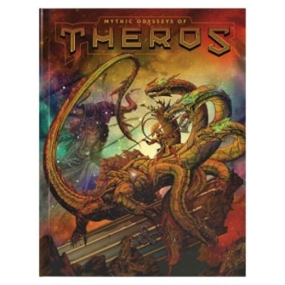 D&D: Mythic Odysseys of Theros – Limited Alternate Cover (HC) – EN