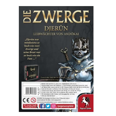 Die Zwerge: Charakterpack Djerun – DE