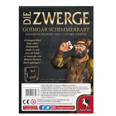 Die Zwerge: Charakterpack Goimgar – DE