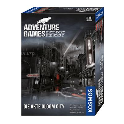 Adventure Games: Die Akte Gloom City – DE