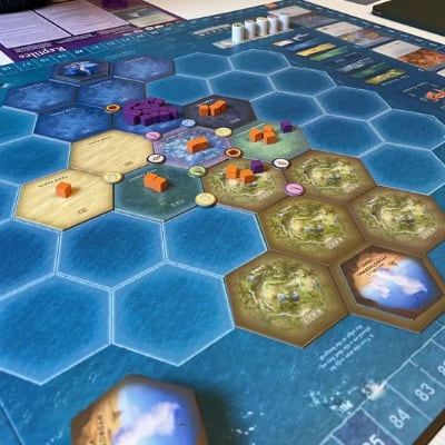 Dominant Species: Marine – EN