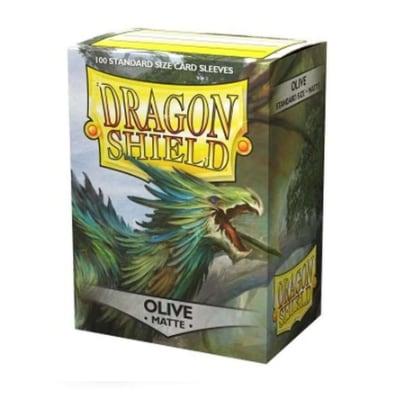 "Dragon Shield: Sleeves – Standard ""Olive"" – 100 Stk"