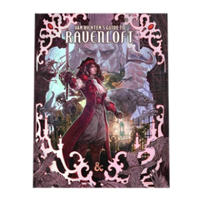 D&D: Van Richten's Guide to Ravenloft – limited alternate Cover (HC) – EN