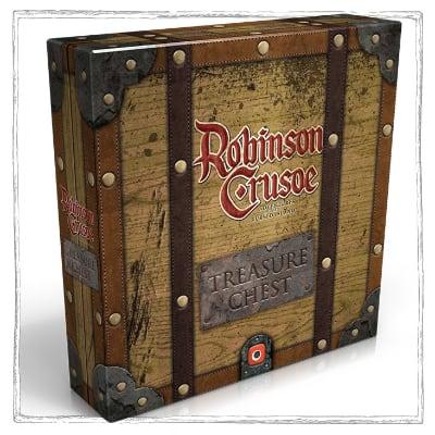 Robinson Crusoe: Schatztruhe – DE (Reprint)