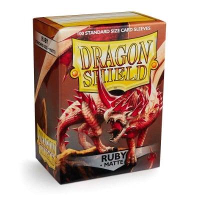 "Dragon Shield: Sleeves – Standard ""Ruby"" – 100 Stk"