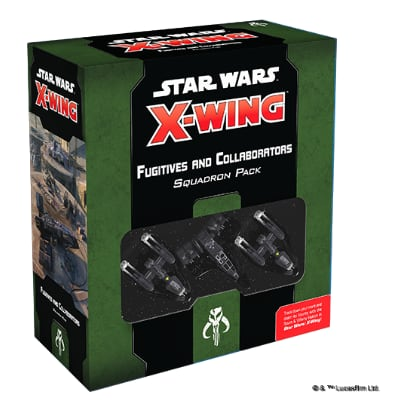 Star Wars X-Wing 2.Edition: Gesuchte + Kollaborateure – DE