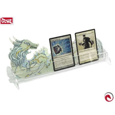 "Card Holder ""L"" Dragon Transparent (groß)"