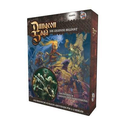 Dungeon Saga: Deluxe – DE (Schachtel geöffnet – Neuwertig)