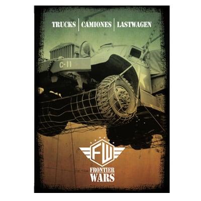 Frontier Wars: Truck Miniaturen inkl. dt. Regel – DE