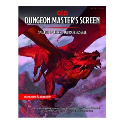 "D&D: SL-Schirm ""Dungeon Master Screen"" – DE"