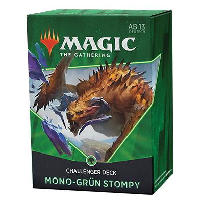 Magic: Challenger Deck: Mono-Grün Stompy – DE