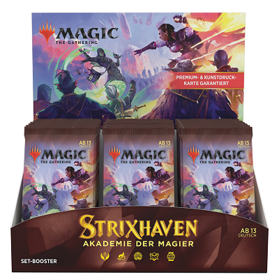 "Magic: Strixhaven School of Mages ""Set Boosterdisplay"" – EN"