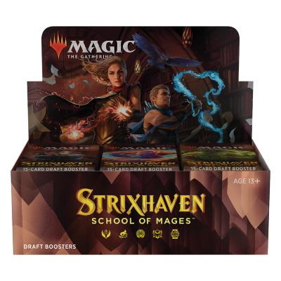 "Magic: Strixhaven School of Mages ""Draft Boosterdisplay"" – EN"
