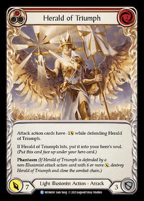 MON008: Herald of Triumph (Red) – (R)