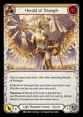 MON009: Herald of Triumph (Yellow) – (R)