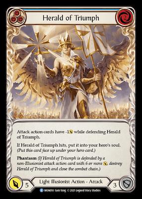 MON010: Herald of Triumph (Blue) – (R)