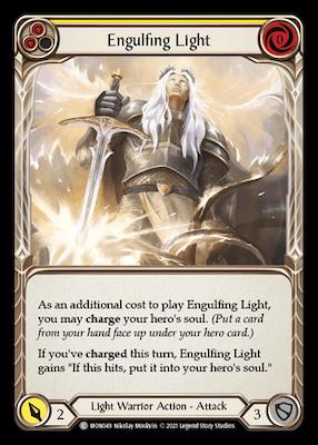 MON049: Engulfing Light (Yellow) – (C)