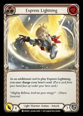 MON051: Express Lightning (Red) – (C)