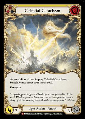 """MON062: Celestial Cataclysm – (M) """"Foil"""""""