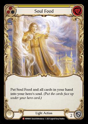 """MON064: Soul Food – (M) """"Foil"""""""