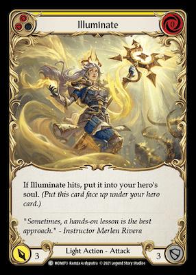 MON073: Illuminate (Yellow) – (C)