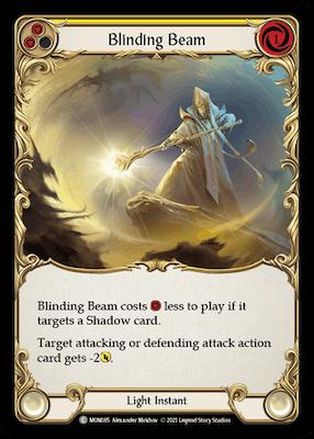 MON085: Blinding Beam (Yellow) – (C)