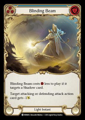 MON086: Blinding Beam (Blue) – (C)