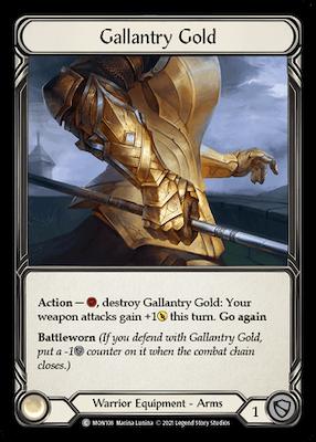 MON108: Gallantry Gold – (C)