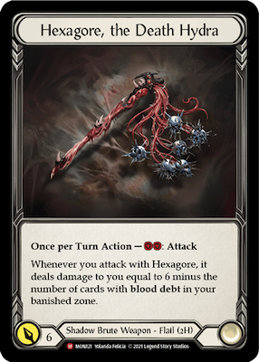 MON121: Hexagore, the Death Hydra – (M)