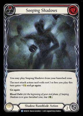 MON165: Seeping Shadows (Red) – (R)