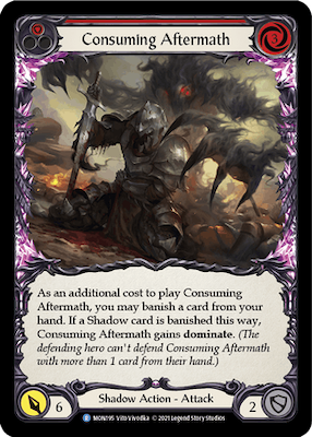 MON195: Consuming Aftermath (Red) – (R)