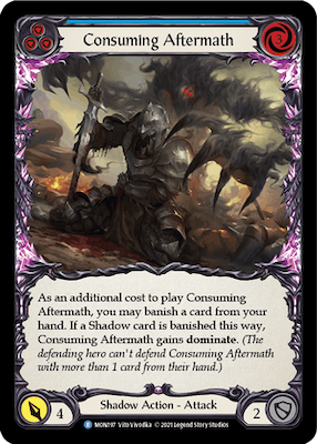MON197: Consuming Aftermath (Blue) – (R)