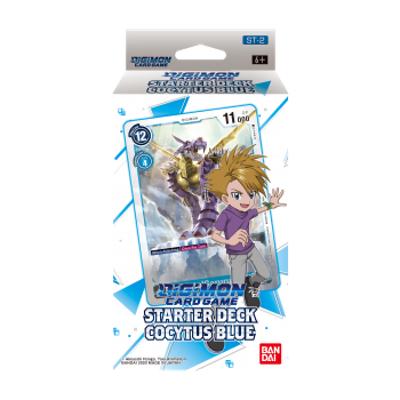 "Digimon Card Game: Starter Deck ""Cocytus Blue ST-2"" – EN"