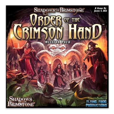 "Shadows of Brimstone: Order of the Crimson Hand ""Mission Pack"" – EN"