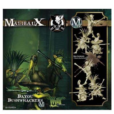 Malifaux M2E: Gremlins – Bayou Bushwackers Mah Tucket – EN