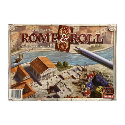 Rome and Roll: Character Boards Expansion – EN