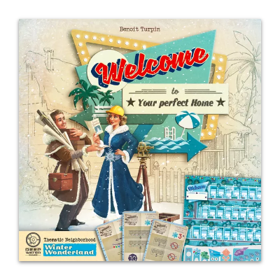 Welcome to your perfect home: Winter Wonderland Thematic Neighborhood – EN