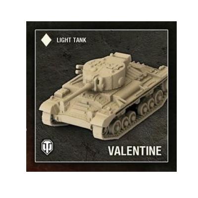 "World of Tanks: Miniatures Game ""British – Valentine"" – DE"