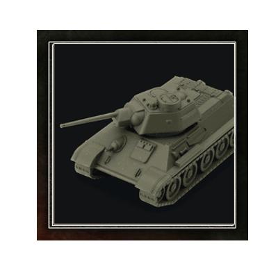 "World of Tanks: Miniatures Game ""Soviet – T-34"" – DE"