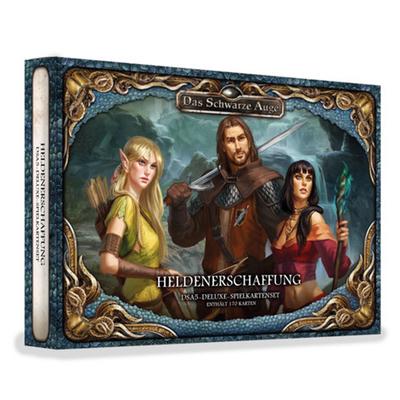 DSA5: Spielkartenset – Heldenerschaffung – DE