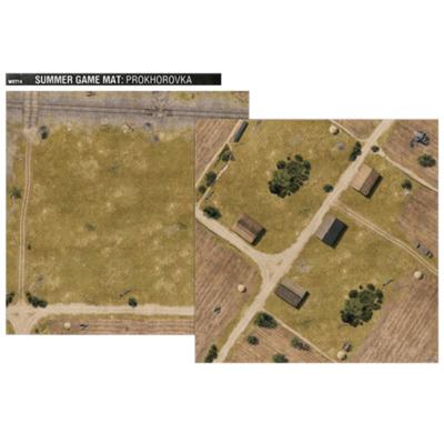 """World of Tanks: Summer Game Mat – """"36×36 double sided neoprene map"""""""