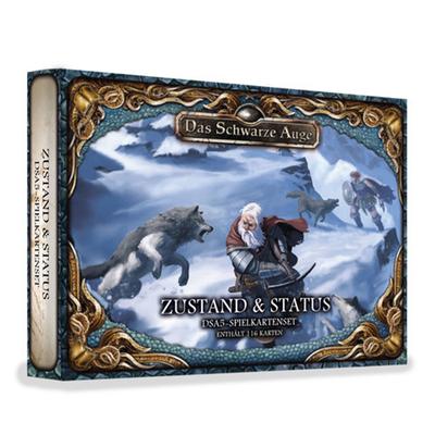 DSA5: Spielkartenset – Zustand- und Status-Wendekarten – DE