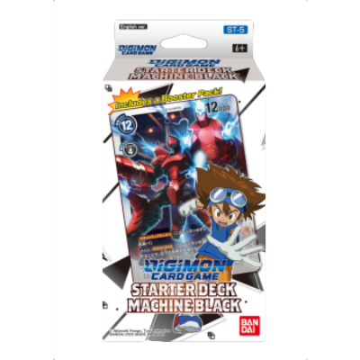"Digimon Card Game: Starter Deck ""Machine Black ST-5"" – EN"