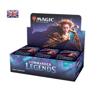 "Magic: Commander Legends ""Draft Booster Display"" – EN"