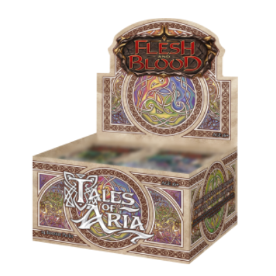 Flesh and Blood: Tales of Aria – 1st Edition Booster Display (24 Packs) – EN