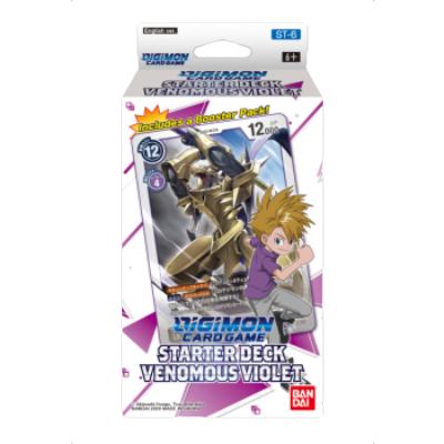 "Digimon Card Game: Starter Deck ""Venomous Violet ST-6"" – EN"