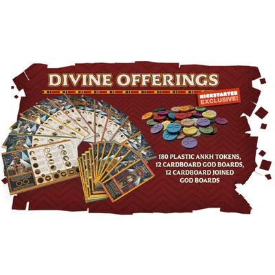 "Ankh: Gods of Egypt – EN (inkl. KS Exclusive ""Divine Offerings"" Plastic Token & Cardboard Pack)"