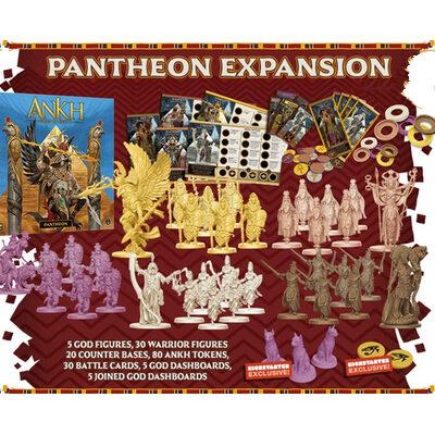Ankh: Gods of Egypt – Pantheon – EN (inkl. KS Exclusive Cats Token)