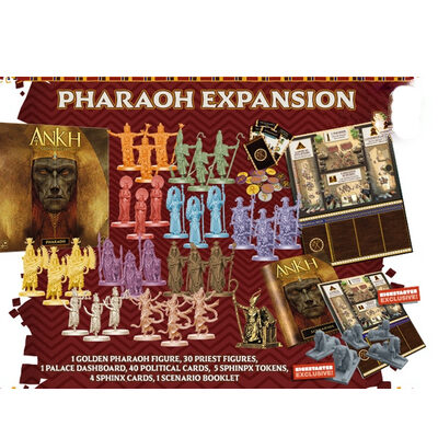 Ankh: Gods of Egypt – Pharaoh – EN (inkl. KS Exclusive Sphinx Token)